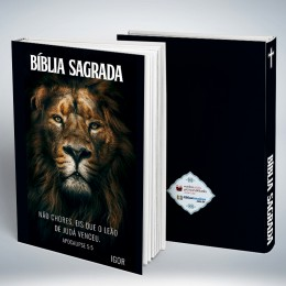 Bíblia Personalizada The Lion of Judah
