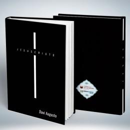Bíblia Personalizada Jesus Cruz Black