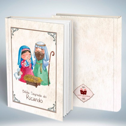 Bíblia Personalizada Infantil II